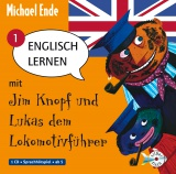 Hörbuchcover  - Englisch lernen mit Jim Knopf und Lukas dem Lokomotivführer - Teil 1