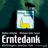 Hörbuchcover  - Erntedank