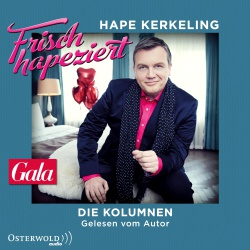 Hörbuchcover Kerkeling - Frisch hapeziert