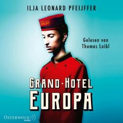 Hörbuchcover Pfeijffer - Grand Hotel Europa