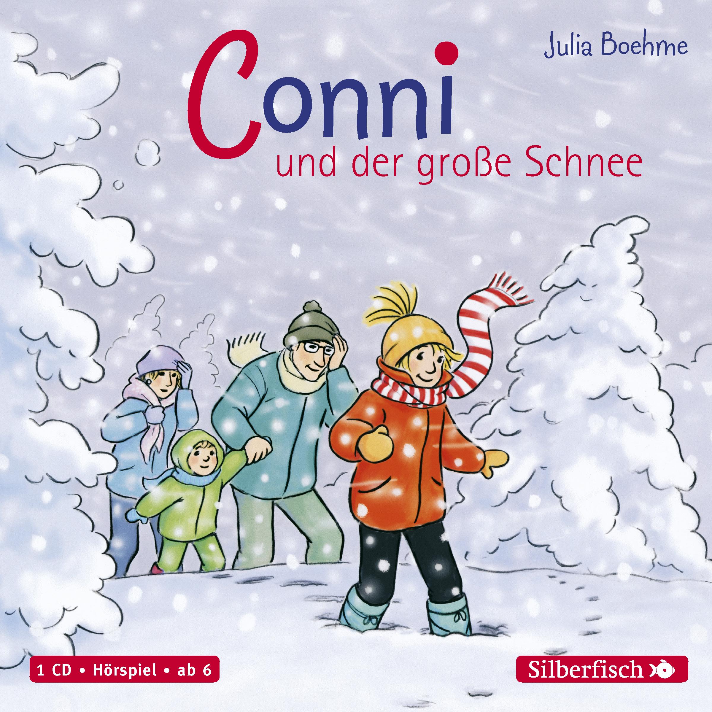 Horbuch Julia Boehme Conni Und Der Grosse Schnee