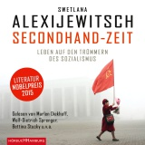 Hörbuchcover Alexijewitsch - Secondhand-Zeit