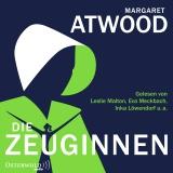 Hörbuchcover Atwood - Die Zeuginnen