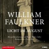 Hörbuchcover  Faulkner - Licht im August