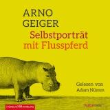 Hörbuchcover  - Selbstporträt mit Flusspferd