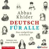 Hörbuchcover Khider - Deutsch für alle